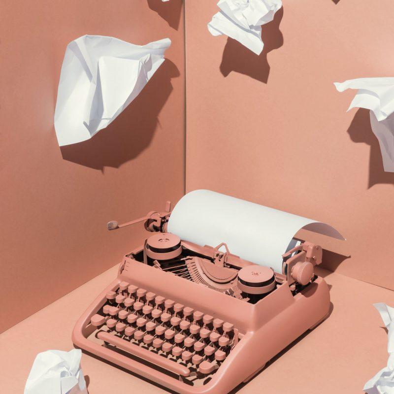 Social Moms Schreibmaschine