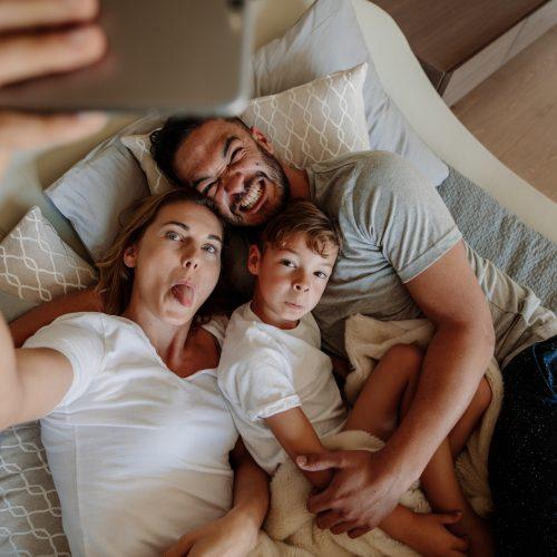 Familie Influencer Mütter